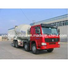 Caminhão resistente do misturador concreto de XCMG 14m3 / caminhão de mistura do caminhão do misturador de cimento com chassi de Sinotruk