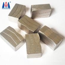 Huazuan Diamond M-shaped Saw Blade Segment for Granite Cutting