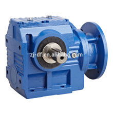 DOFINE S series right angle helical worm geared motor