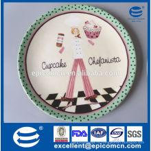 Цветные тарелки для вечеринки, керамические свадебные тарелки фарфор оптом