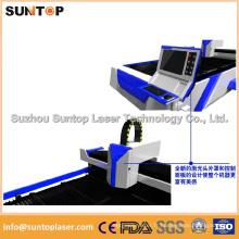 Machine de coupe laser à fibre économique pour machine à découpe laser en acier / métal à vendre