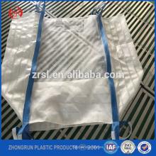 Bolso respirable de la malla del bolso grande 500 / pp de 500kg, tela de ventilación del wirh del bolso a granel