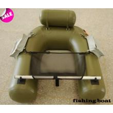 150cm spezielles Design PVC-Material Belly Boat Aufblasbares Boot für individuelles Angeln mit CE China