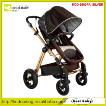 2015 NEW 2015 Baby Stroller Manufacturer Customized Color Thick seat mattress Bassinet for Winter Thicker Canopy Foot Cover