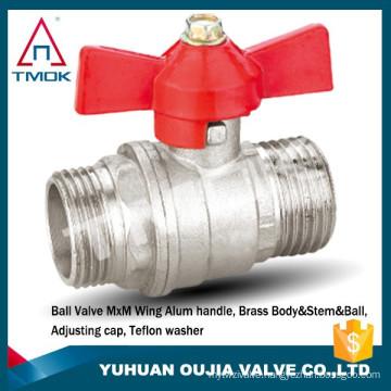 casting iron handle 1.6 mpa middle pressure mini panel mounted ball valve