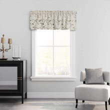 Home Textiles Woven Embroidered Curtains Valance