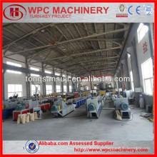 Настил WPC, производственная линия по производству напольных покрытий WPC / производственная линия WPC