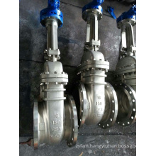 API 6D Flanged Ends Gate Valve, Stainless Steel