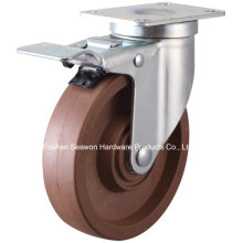 High Temperature Swivel with Brake Caster (280 degree)