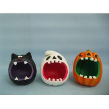 Halloween Pumpkin Ceramic Arts and Crafts (LOE2373-11)