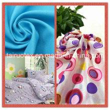 Printed Polyester Pongé für Bekleidung und Vorhangstoff