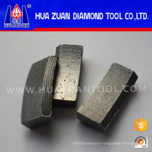 Premium quality diamond tipped segment for reinforce cutting