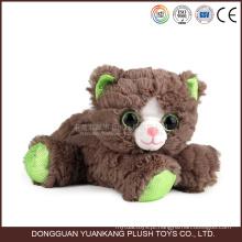Mini boneco de pelúcia brinquedo personalizado boneca gato bonito