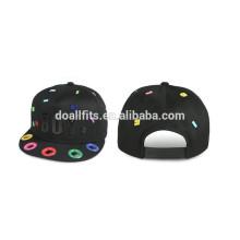 new special hiphop Ultrashort visor snapback cap