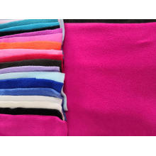 100% Polyester Polar Fleece aus massivem Stoff