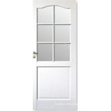 Home Design Modern Style Window Glass Door/ White Composite Door