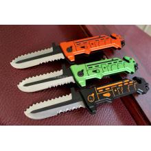 Couteau de chasse en aluminium de 7,8 po (SE-0522)