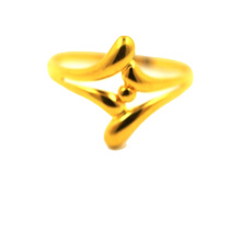 Golden Pearl K Gold Ring Giallo Oro