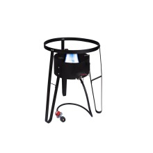 Portable high pressure BBQ gas stove with stand