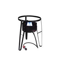 Tragbarer Hochdruck-BBQ-Gasherd mit Ständer