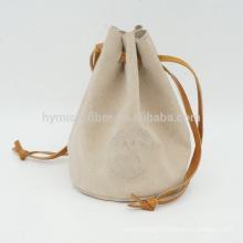 Logo d'usine gravant le sac de cordon de cadeau de cordon de cadeau