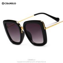 B1730 Cramilo 2017 oversize square hot selling fashion sunglasses