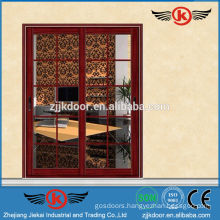JK-AW9109 Aluminum Sliding Door Frosted Glass Interior Door