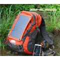 6.5W Sunpower Impermeable Nylon Solar Senderismo Mochila (SB-180)