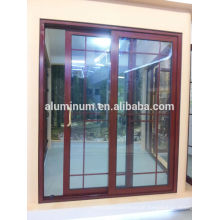Portas de vidro deslizantes de alumínio-alumínio