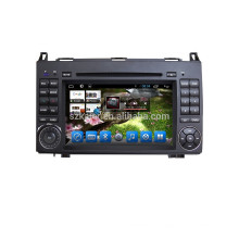 Android Quad Core 1080P Car MP5 reproductor de DVD para Benz B200 con GPS incorporado 3G Wifi BT