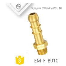EM-F-B010 pagode cabeça longo corpo latão adaptador de encaixe de tubulação