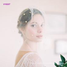Neuer kommender Hochzeits-Schleier-kurzer Art-Brautschleier
