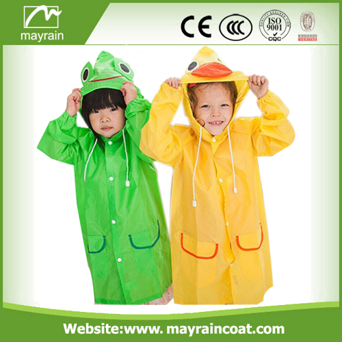 Polyester Print Waterproof Rainsuit