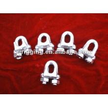 Galvanisé Malleable A Type Clip de câble métallique