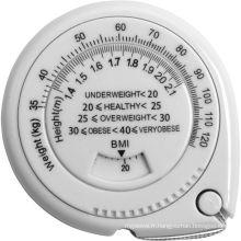 Ruban à mesurer personnalisé de la graisse corporelle