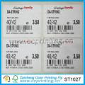 black label price barcode label paper sticker design