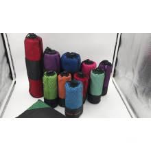 Viagem / esportes toalha de microfibra, microfibra esportes viajando toalha de praia toalhas de microfibra de pelúcia