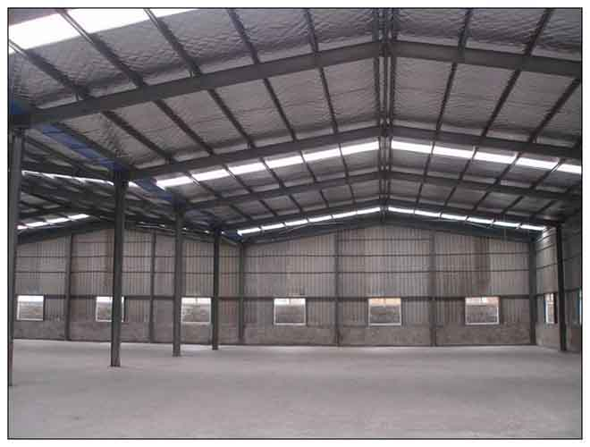 Prefab Low Price Steel Structure Warehouse Construction