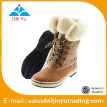 Botas de lana caliente de estilo caliente para los hombres