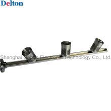 Prata 3 luz flexível poleiro LED gabinete de iluminação (dt-zbd-001)