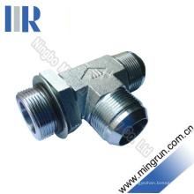 Jic Mâle / SAE O-Ring Ajustable Ajustable T-Tube Adaptateur (AJJO - OG)