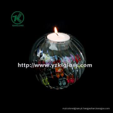 Única garrafa de vidro da vela por SGS. BV (8,5 * 9,5 * 9,5)