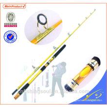 """JGR004 7'6 """"popping vara de pesca nano carbono vara de pesca"""