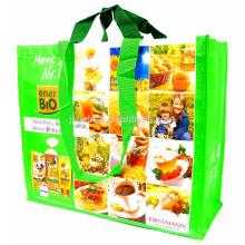 RPET Stitchbond Laminated Recycled Water Bottles RPET Shopping Bag 135GSM RPET Bag