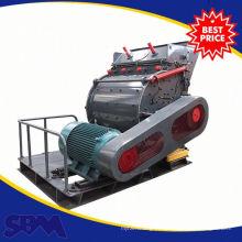 Triturador do moinho de martelo do motor diesel para o esmagamento da pedra calcária