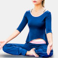 Vestuário de ioga feminino Mositure Wicking Dry Fit