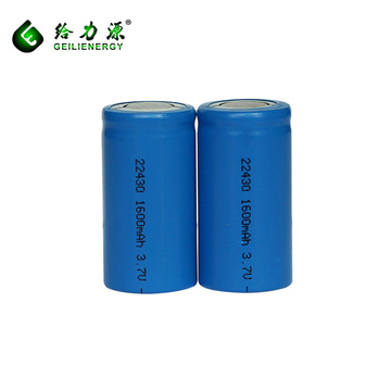 Wholesale prices li-ion battery 3.7v 1600mah lithium-ion 22430 battery