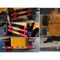DONGFENG 4X2 8CBM camión cisterna de succión de aguas residuales