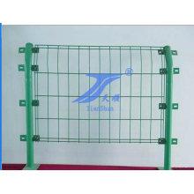 Venda quente boa qualidade PVC revestido cerca de borda duplo fio