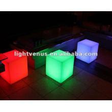 Led brillante mesa de la barra